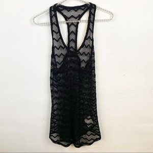 Roxy l Netted Racerback Swim Coverup